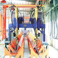 h beam steel production line
