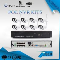 poe ip camera 2MP full hd 8ch nvr kit best sale outdoor ip66 cctv ip camera