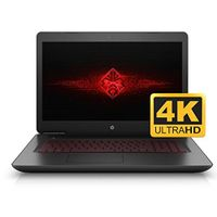 HP OMEN 17 17.3'' UHD 4K VR Ready Gaming and Business Laptop (Intel i7, 2TB HDD +128GB SSD, 17.3 inc