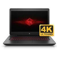 HP OMEN 17 17.3'' UHD 4K VR Ready Gaming and Business Laptop (Intel i7, 2TB HDD +128GB SSD, 17.3 inc