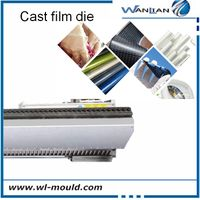 Extruison coating film die cast film die for film machine