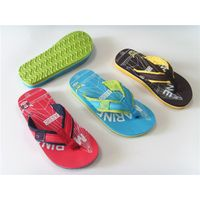 Fashion summer custom brand eva beach kids flip flops child slipper cheap wholesale