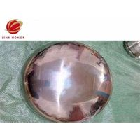 special metal plate dished head for pressure vessel