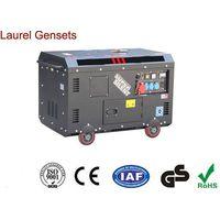 High Performance 3kva - 10kva Portable Small Super Quiet Diesel Generator thumbnail image