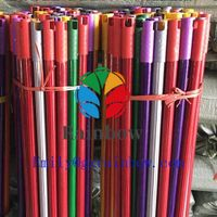 Factory price Wholesale Broom Handle PVC coated wooden wood broom stick thumbnail image