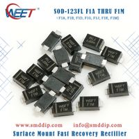 WEET SOD-123FL F1A THRU F1M Surface Mount Fast Recovery Rectifier