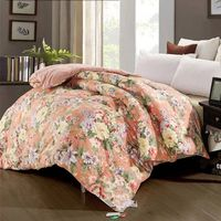 Custom Print Duck Down feather Comforter/Quilt/Duvet for Home