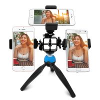 Bomgogo Govivo G1 Multi-phone Tripod Mount for Live Webcast Streaming