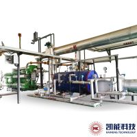 Horizontal Waste Heat Boiler Units for Exhaust Gas Heat Recovery of 500kw 700kw 1000kw Gensets.