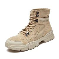 High-top Martin boots men's Korean version of the 2018 winter British mid-top all-purpose workwear f thumbnail image