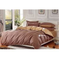 solid cold cotton bedding set