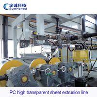 PC high transparent sheet extrusion line