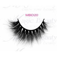 3D Mink Lashes MBD20 Magic Beauty Lashes for Makeup Artisit