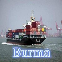 sea freight shipping to Burma Yangon  from Shenzhen/Guangzhou,China