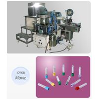 DY-08 Auto Vacuum Blood Collection Tube Product machine (EDTA filling+Vacuum+ Cap capping +Labeling thumbnail image