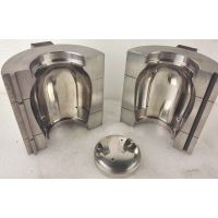 Glass Cup press & blow mold with bottom