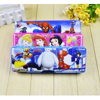 Cartoon Plastic Pencil Box For Student