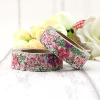 Beautiful custom made washi tape for decoration