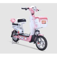 350W 48V12AH simple electric bike with pedals Vietnam style thumbnail image