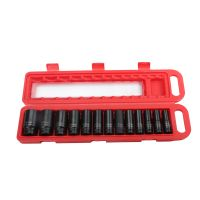 13pcs 1/2 Inch Drive Impact Deep Socket Wrench Kit