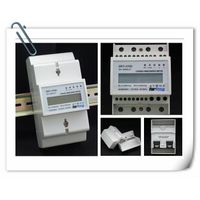 Single phase DIN rail energy meter with Modbus protocol and Multi-tariff