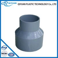 pvc reducer pipe fitting and coupling for water