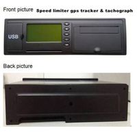 Speed limiter gps tracker & tachograph