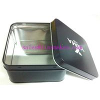 square metal gift box
