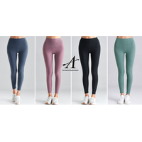 High Waist Yoga Pants Workout Leggings Naked Feeling colorful