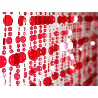 plastic bead curtain