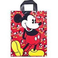 Virgin Printed Cartoon Plastic Soft Loop Handle Bag