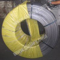 9mm Solid Calcium Cored Wire for Steelmaking thumbnail image