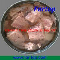 Canned Tuna in Vegetable Oil