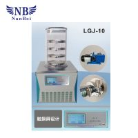 Bench top lab vacuum freeze dryer price, pharmaceutical freeze dryer china for sale thumbnail image