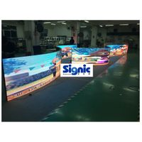 High Contrast and good flatness Flexible LED Display