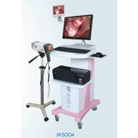 Digital electronic video colposcope