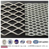 heavy dutyexpanded steel metal mesh panel