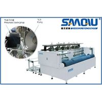 industrial paper bags label cutting machine