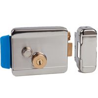 Factory Supply Single Cylinder Hook Latch Rim Lock With Great Price