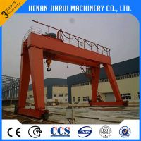 Manufacturer China Heavy Duty 10ton Double Girder Gantry Crane