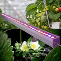 1.2M dimmable intelligent LED Grow Light Bar Hydroponics,Greenhouse,Farm Used