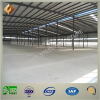 Solid and Durable Prefab Steel Structure Warehouse