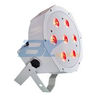 LED  LED Flat Par 7X10W 4IN1 LED(BY-4307)