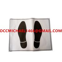 Disposable Paper Car Foot Mat