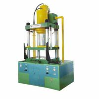 350T 4 Column Deep Drawing Hydraulic Press for Tableware