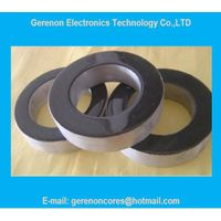 Nanocrystalline core for welding machine transformer core