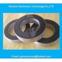 Nanocrystalline core for welding machine transformer core