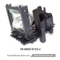 Original Projector Lamp with housing For 3M X80 Projector (78-6969-9719-2)