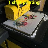small flatbed t shirt printing machine
