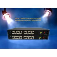 8CH fiber optic audio to XLR balanced converter for 8CH unidirectional balanced audio over fiber wit thumbnail image